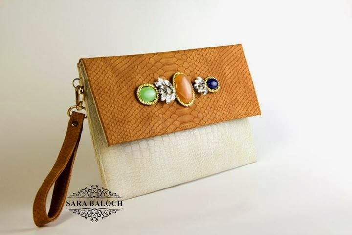 The Royal Pearls Clutch & Hand Bags Collection by Sara Baloch