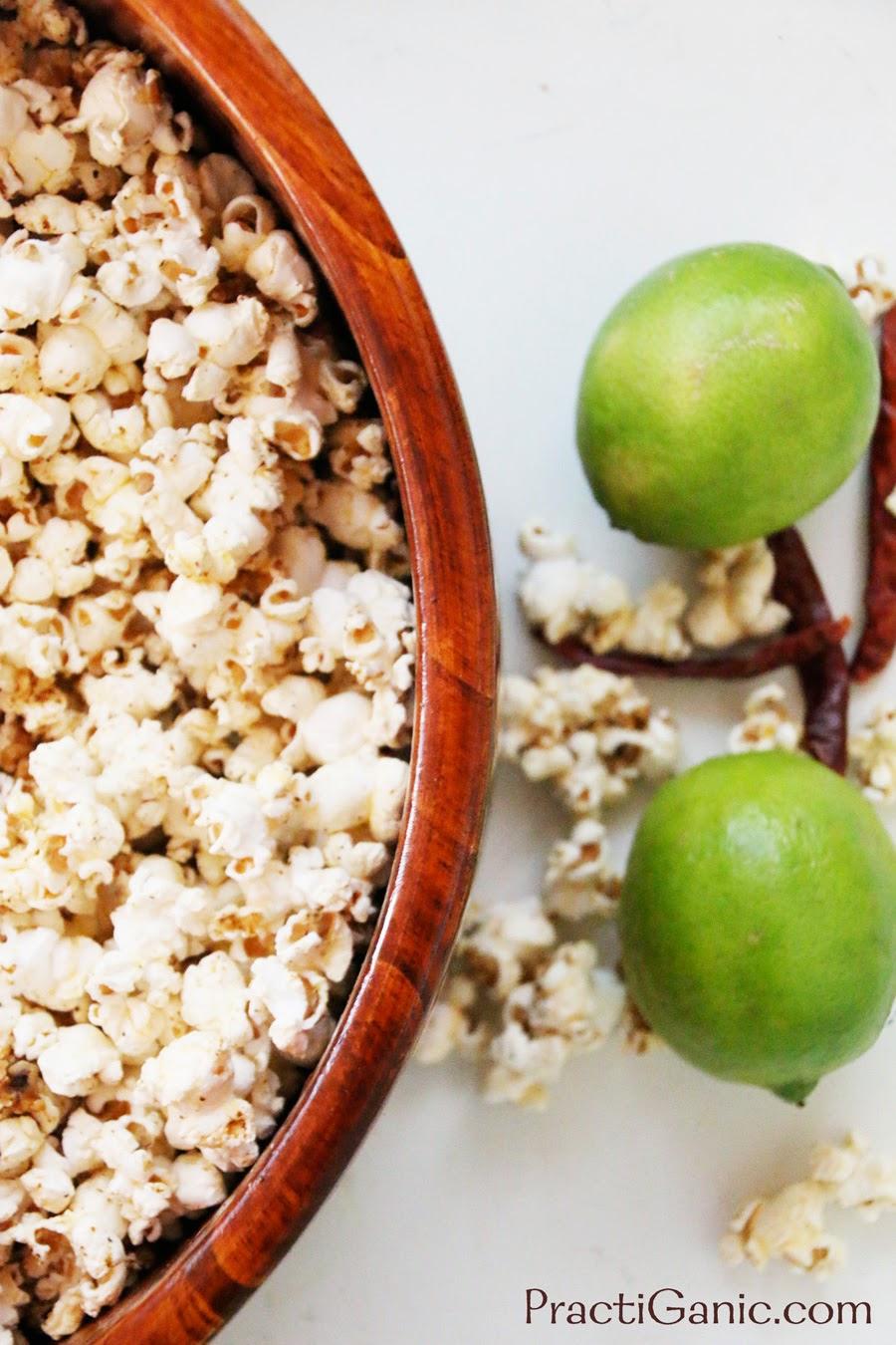 Chile Margarita Popcorn