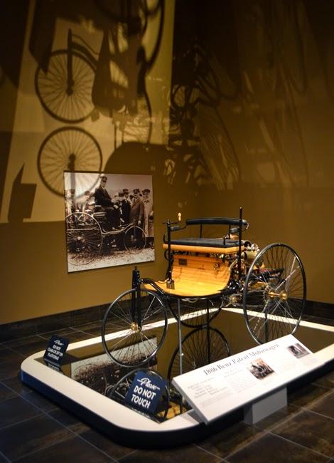 Tellus Science Gallery, 1886 Benz Patent Motorwagen