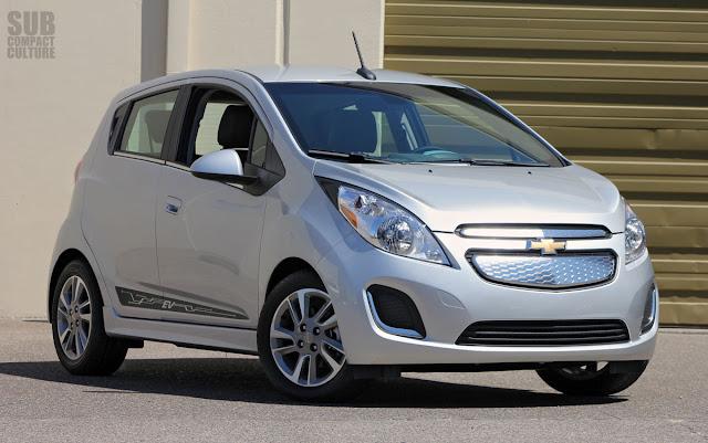 2014 Chevrolet Spark EV Front 3/4