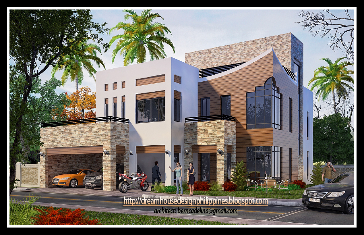 3 storey apartment design philippines modern house for Home designs philippines