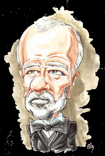 Caricature du Baron Gérard - Magazine Patrimoine Normand