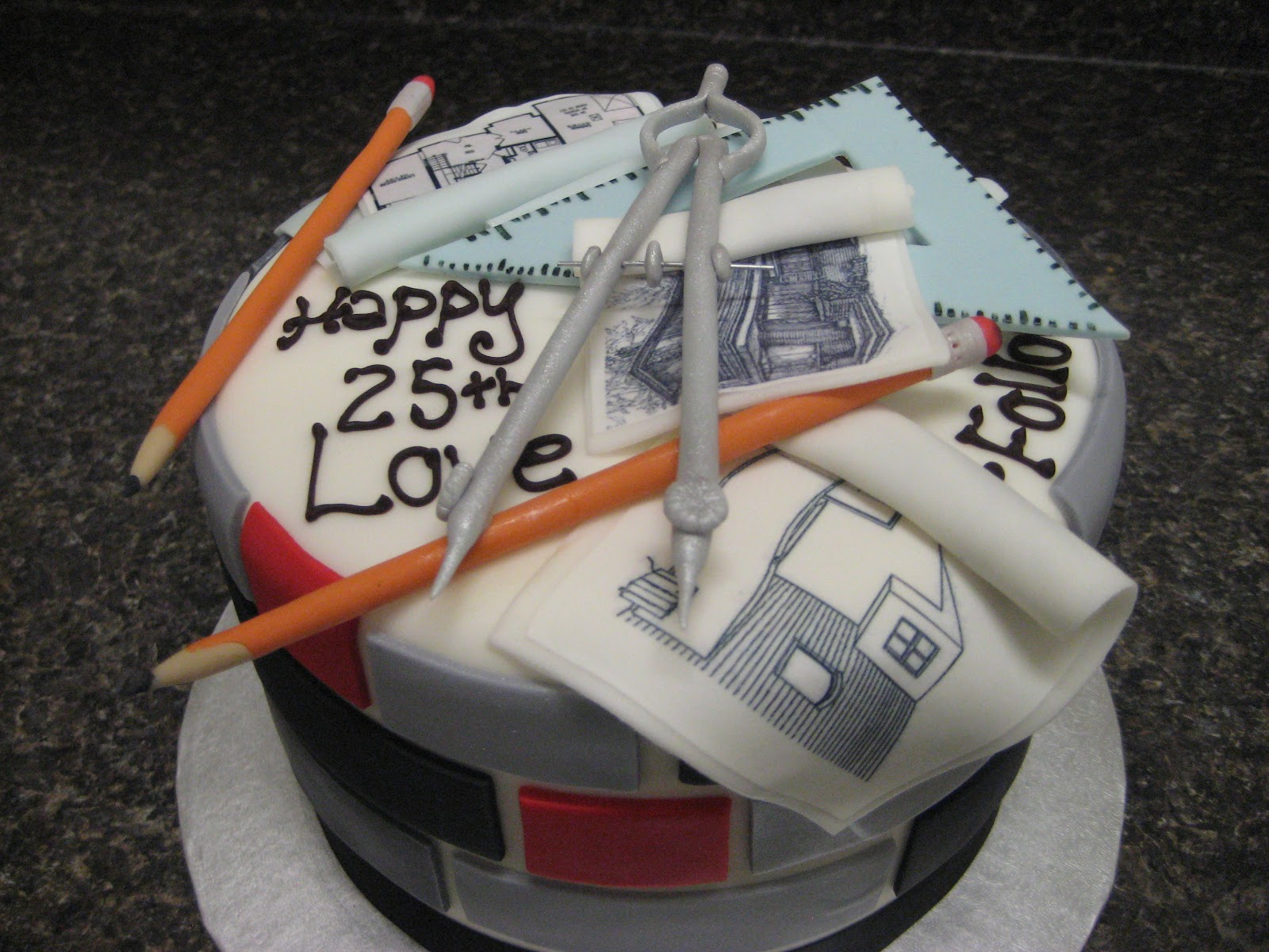 Architecture And Design Cake : Cake My Day
