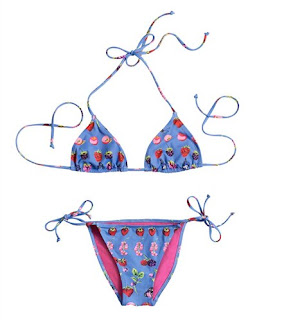 Cruise Collection @ H & M, Blue Bikini
