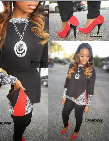 Ombre Peruvian Hair Weave How to wear orange and black