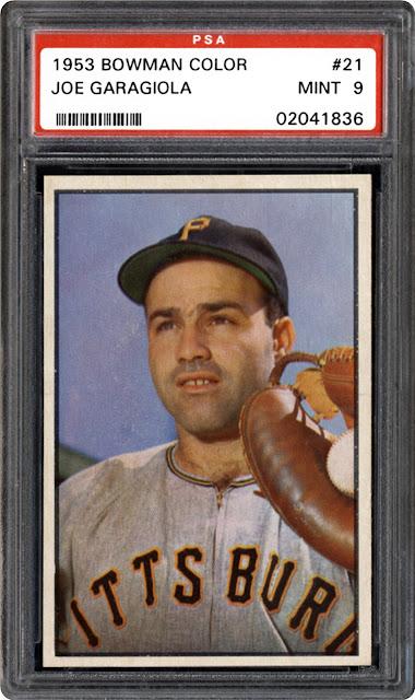 Joe Garagiola, baseball card, baseball