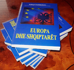 """Libri  """"Europa dhe Shqiptarët"""" me autor dott.mag Alban Daci"""