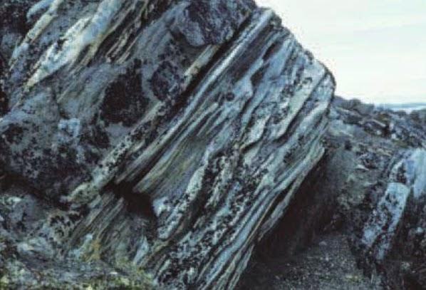 Resultado de imagen de Los Hierros Bandeado de Isua (Groenlandia): las rocas sedimentarias más antiguas