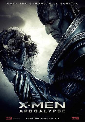 X-Men Apocalypse 2016 Dual Audio Hindi 480p HC HDRip 400mb