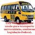 POR QUE A PREFEITA DE RIO BONITO NÃO USA OS ONIBUS DO MEC P/ OS UNIVERSITÁRIOS?