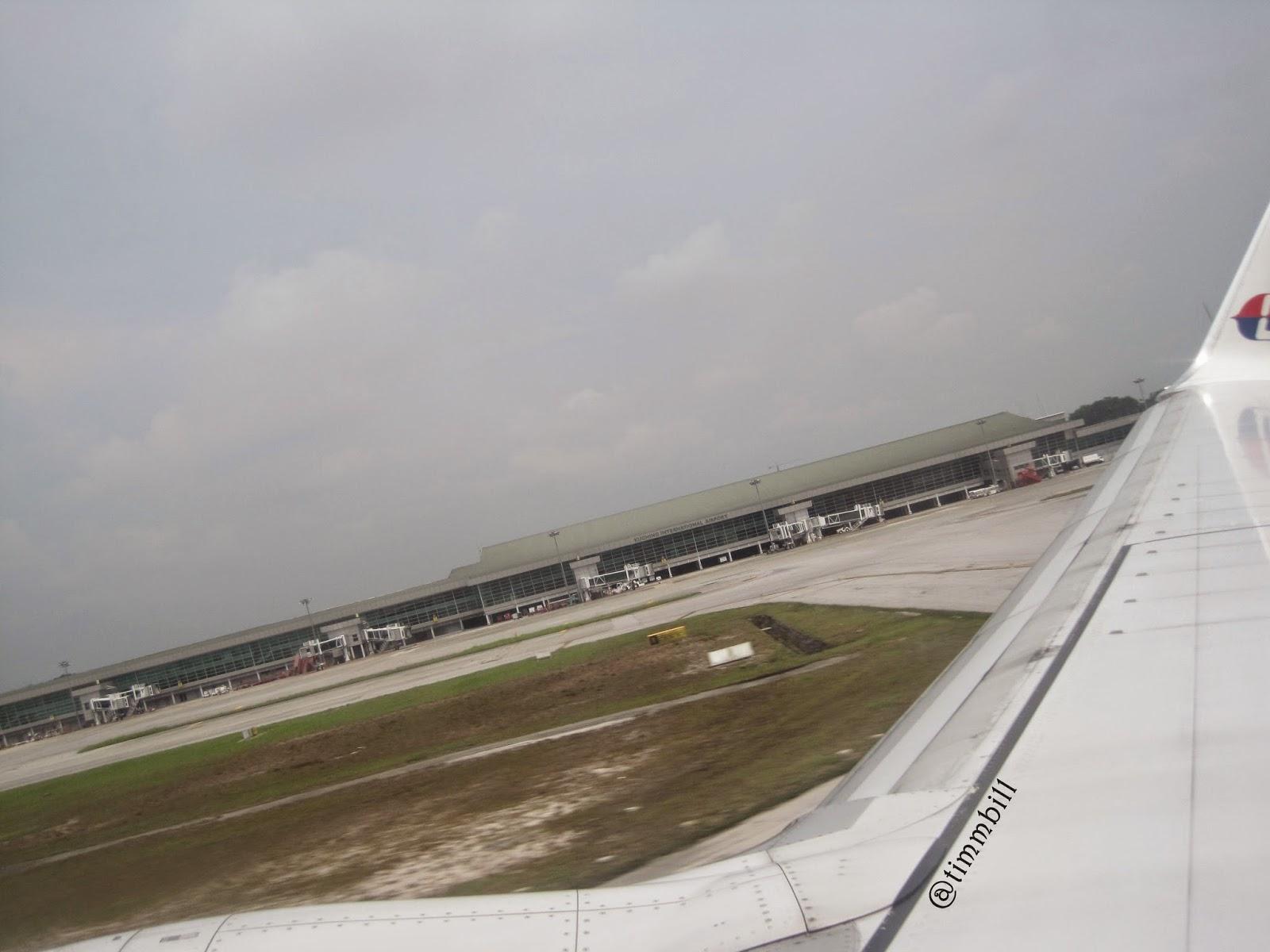 airport, kuching,