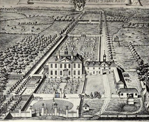Mount Morris, Monks Horton, Kent,  main residence of Elizabeth's family from the 1730s