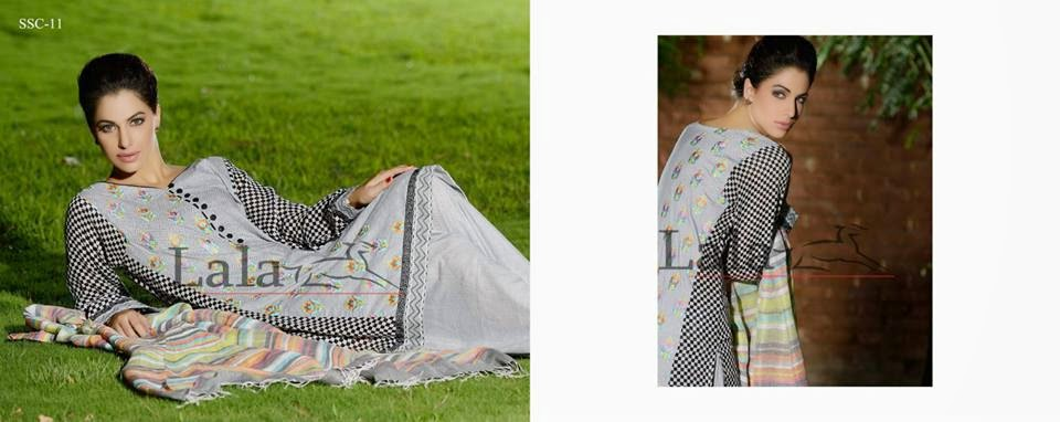 Lala Eid Midsummer Embroidered Collection