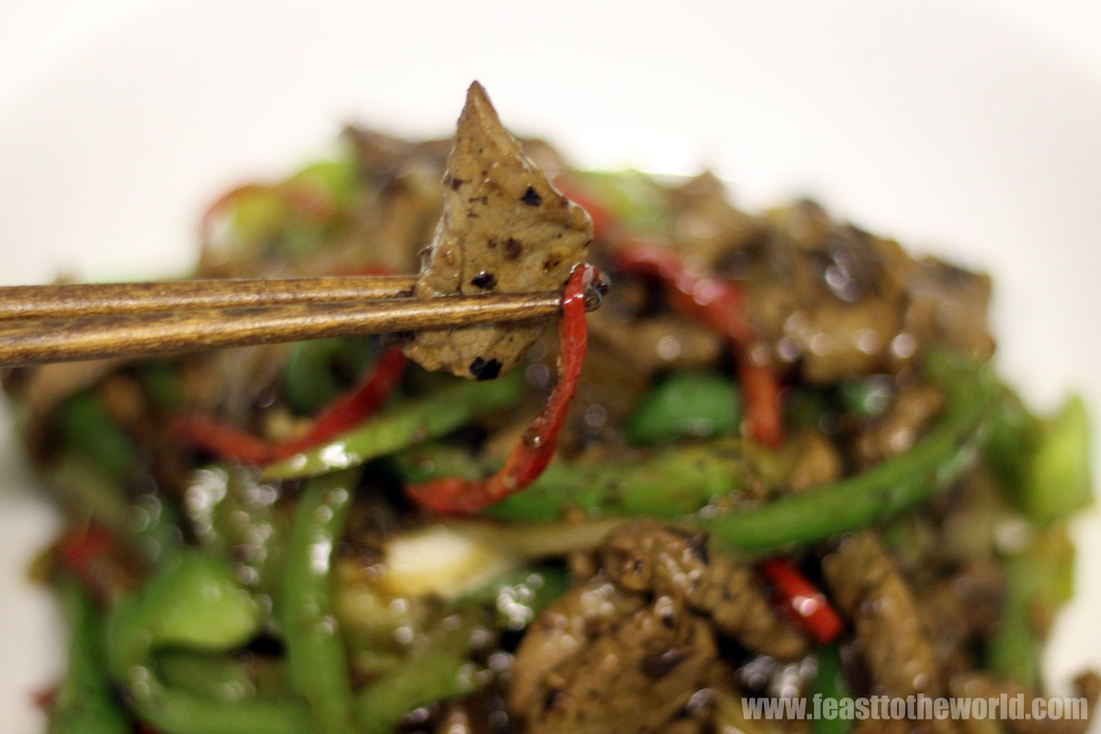 ... peppers in spicy black bean sauce beef beef and peppers in black bean