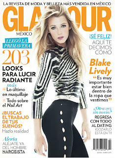 hot Blake Lively for Glamour Mexico March 2013