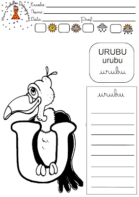 Atividades para trabalhar as letras cursivas, ou modelo de atividades ...