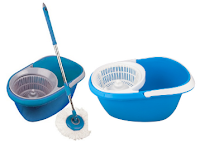 Pepperfry : Buy Birde Spin With Bucket Blue Plastic Mop at Rs. 499 Only – BuyToEarn