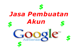 Jasa Bikin Account Adsense Murah