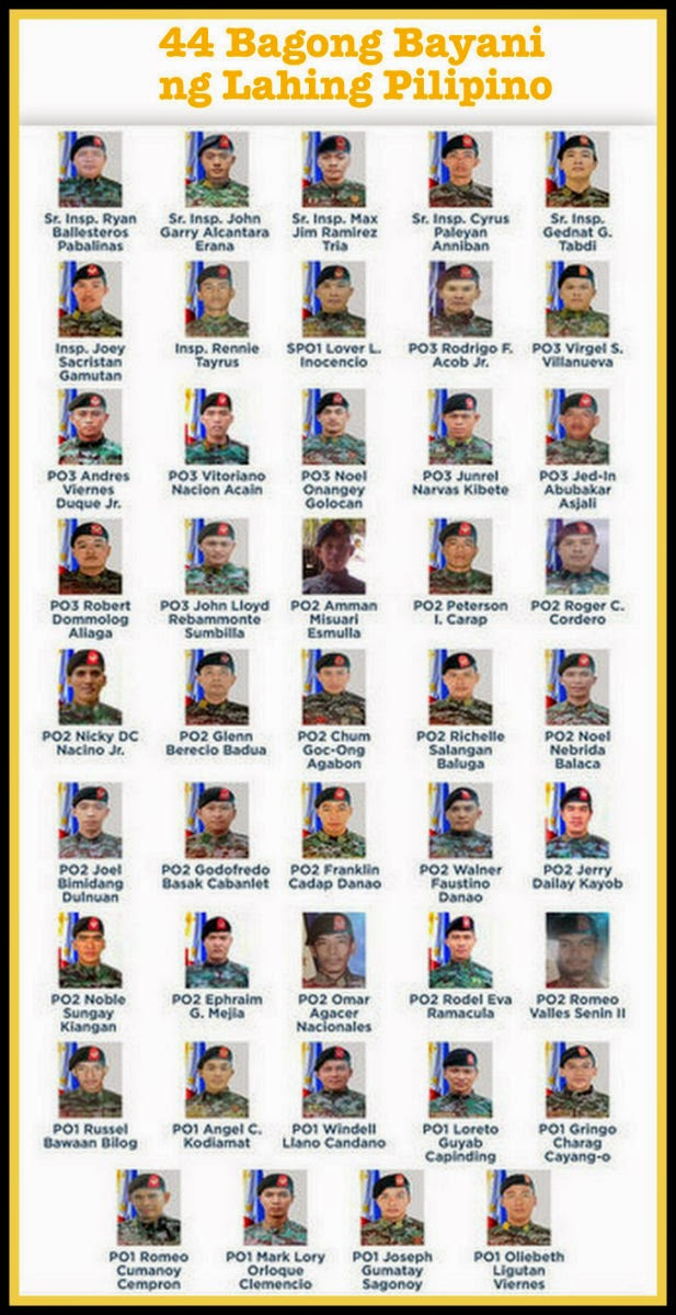 The 44 Gallant Men of The SAF
