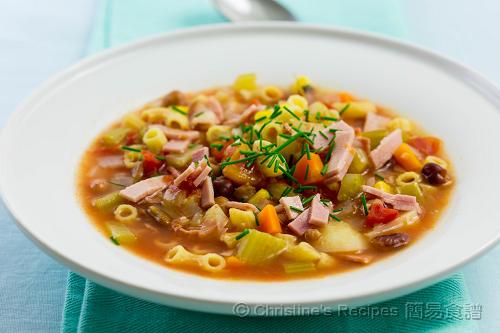意式雜菜湯 Minestrone Soup02