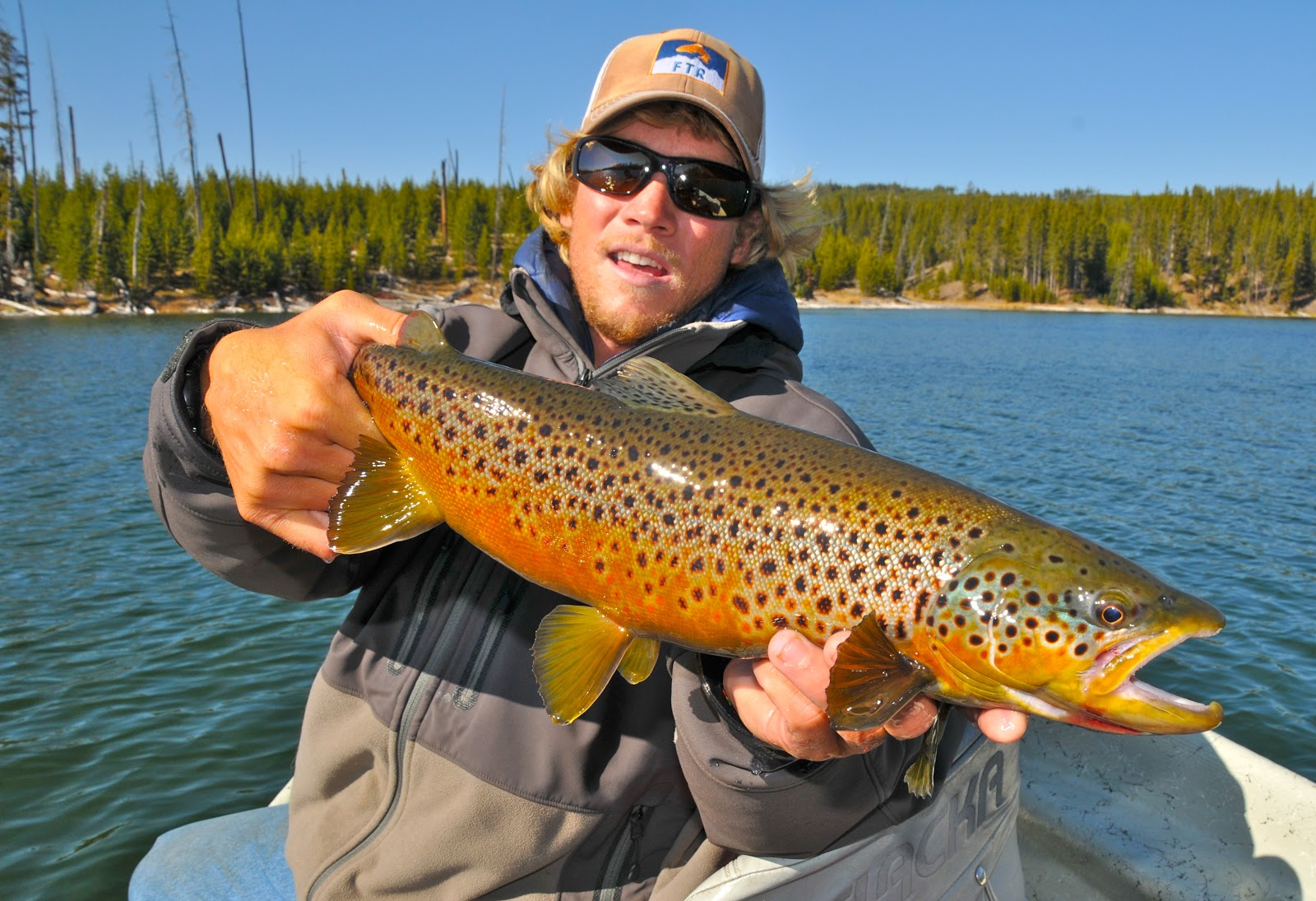 Jackson hole guide report october 16 2012 for Jackson lake fishing