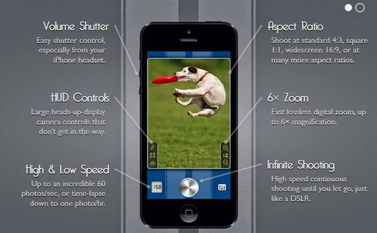 SnappyCam iPhone app