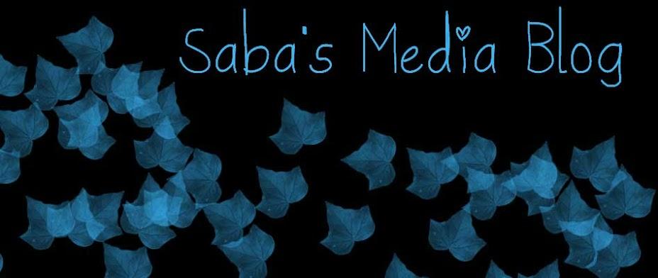 Saba's Media Blog