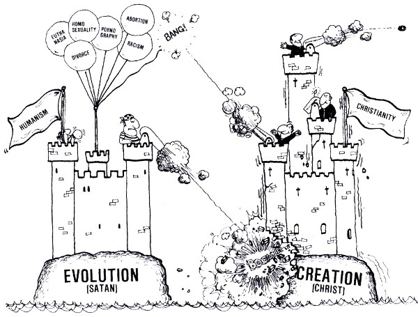 creationism vs evolutionism in public schools