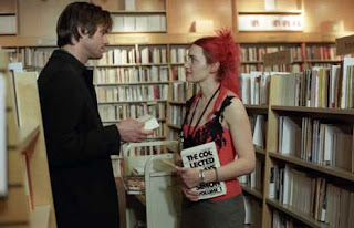 Bookstore in the movie, Eternal Sunshine of the Spotless Mind