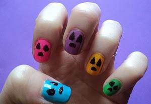 Halloween Diseño Uñas