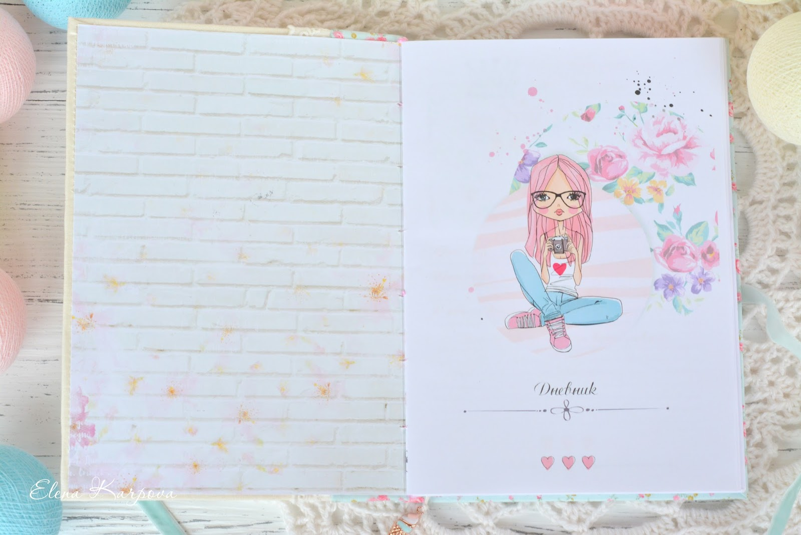Как оформить личный дневник своими руками для девочек 48