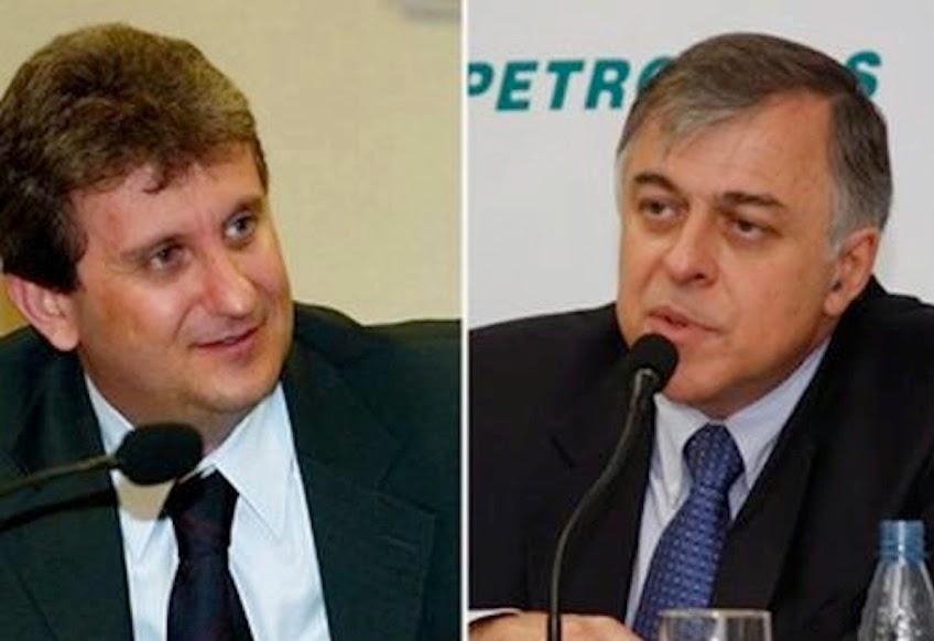 Parte da lista de políticos denunciados pelo ex-diretor da Petrobrás Paulo Roberto Costa: