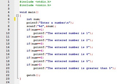 If Decision Making Statement In C With Example About Codes