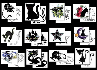 black cat tattoo gallery