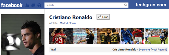 Cristiano Ronaldo on Facebook, Athlete · Madrid, Spain