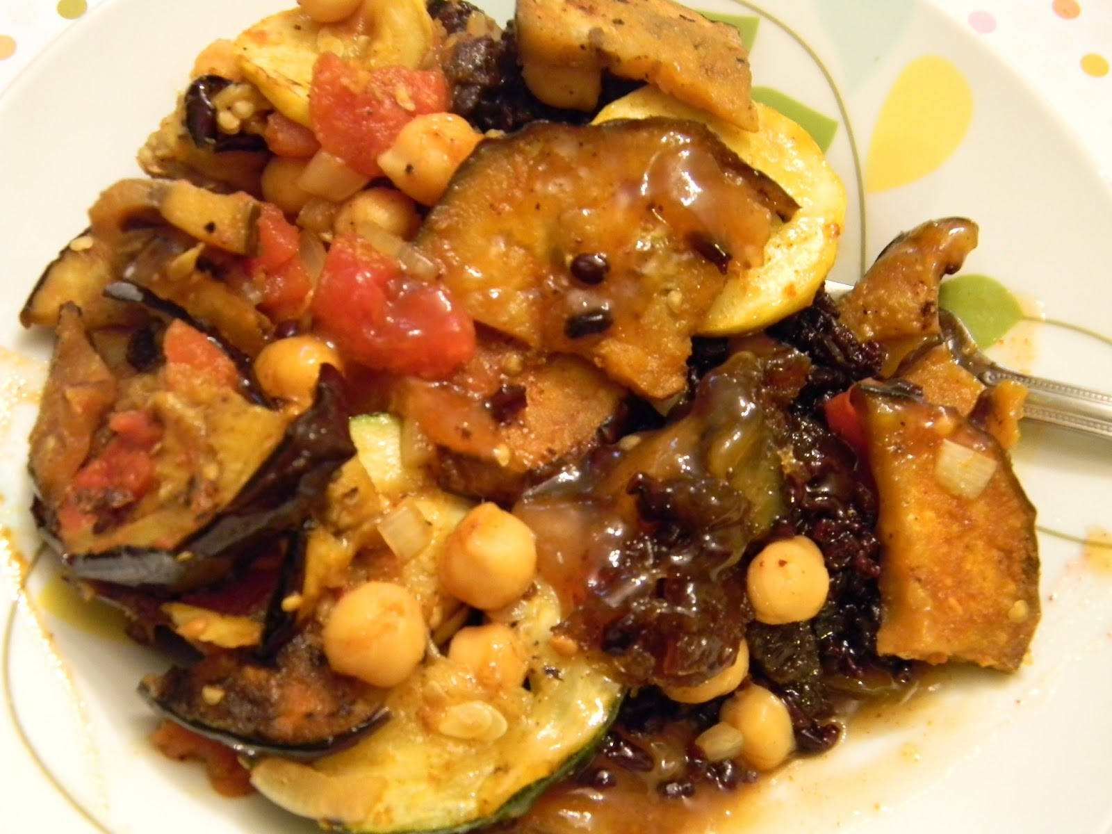 Lunches Fit For a Kid: Recipe: Grilled Veggie Curry with Chick Peas
