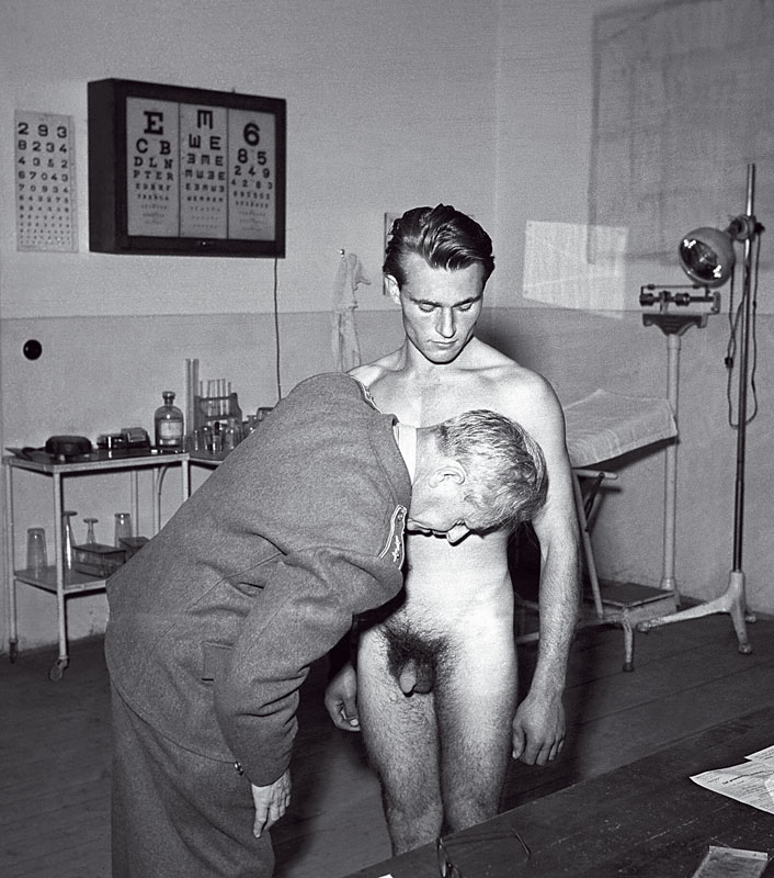 Nude rude medical exams ww2
