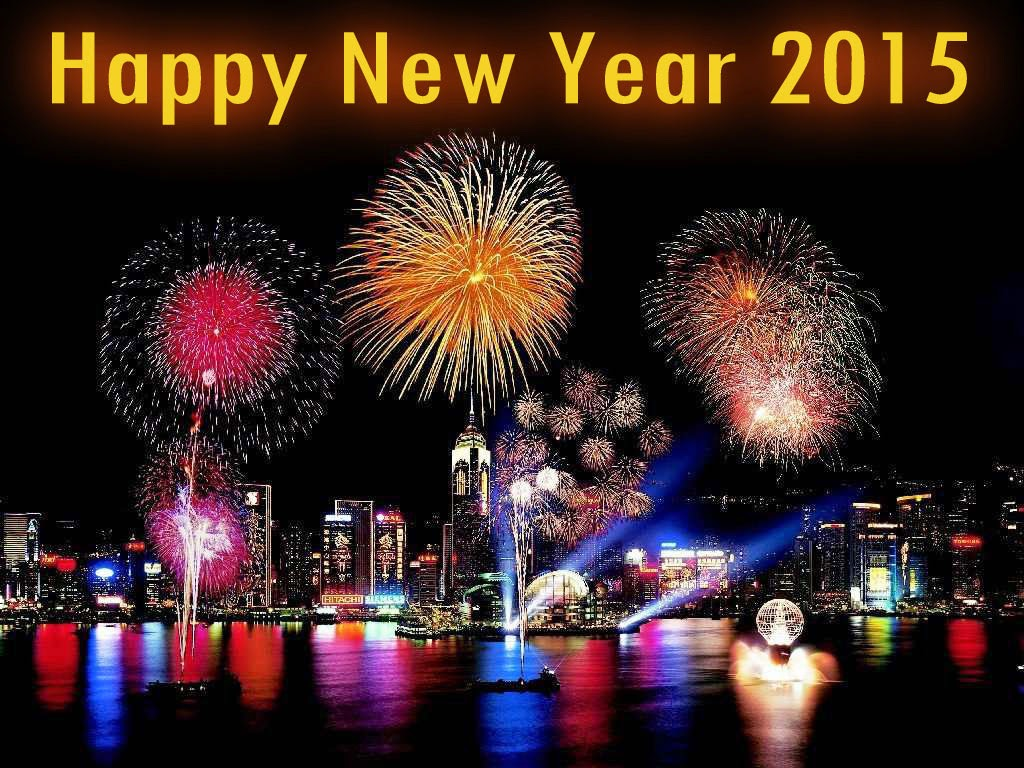 Happy New Year 2015 HD wallpaper for Facebook
