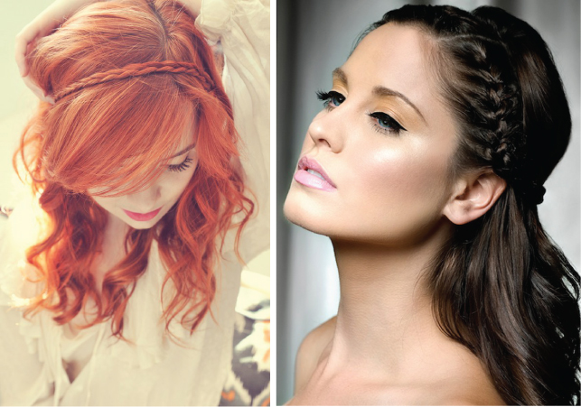 Wedding Trends} : Braided Hairstyles - Belle The Magazine