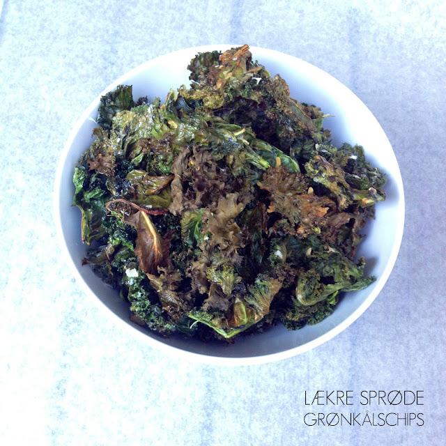 Kålchips af grønkål - Mit livs kogebog