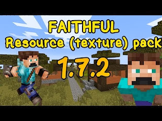 Faithful Resource Pack 1.7.2/1.6.4/1.6.2