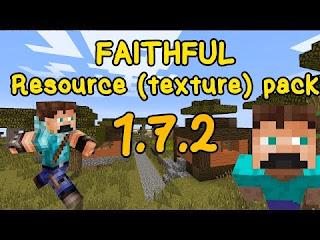 Faithful Resource Pack 1.7.2/1.6.4/1.6.2