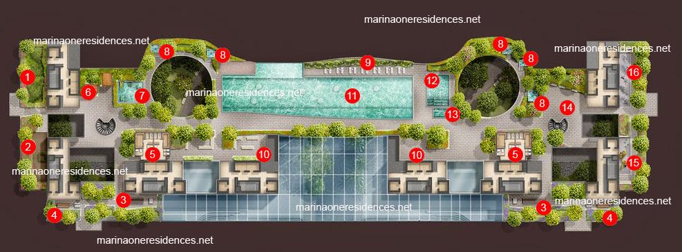 marina one facilities level 3