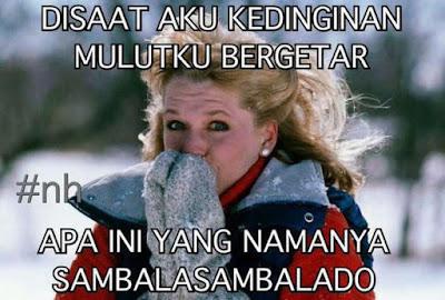 8 Meme 'Sambalado' Ayu Ting Ting Bikin Mulut Bergetar Lidah Bergoyang