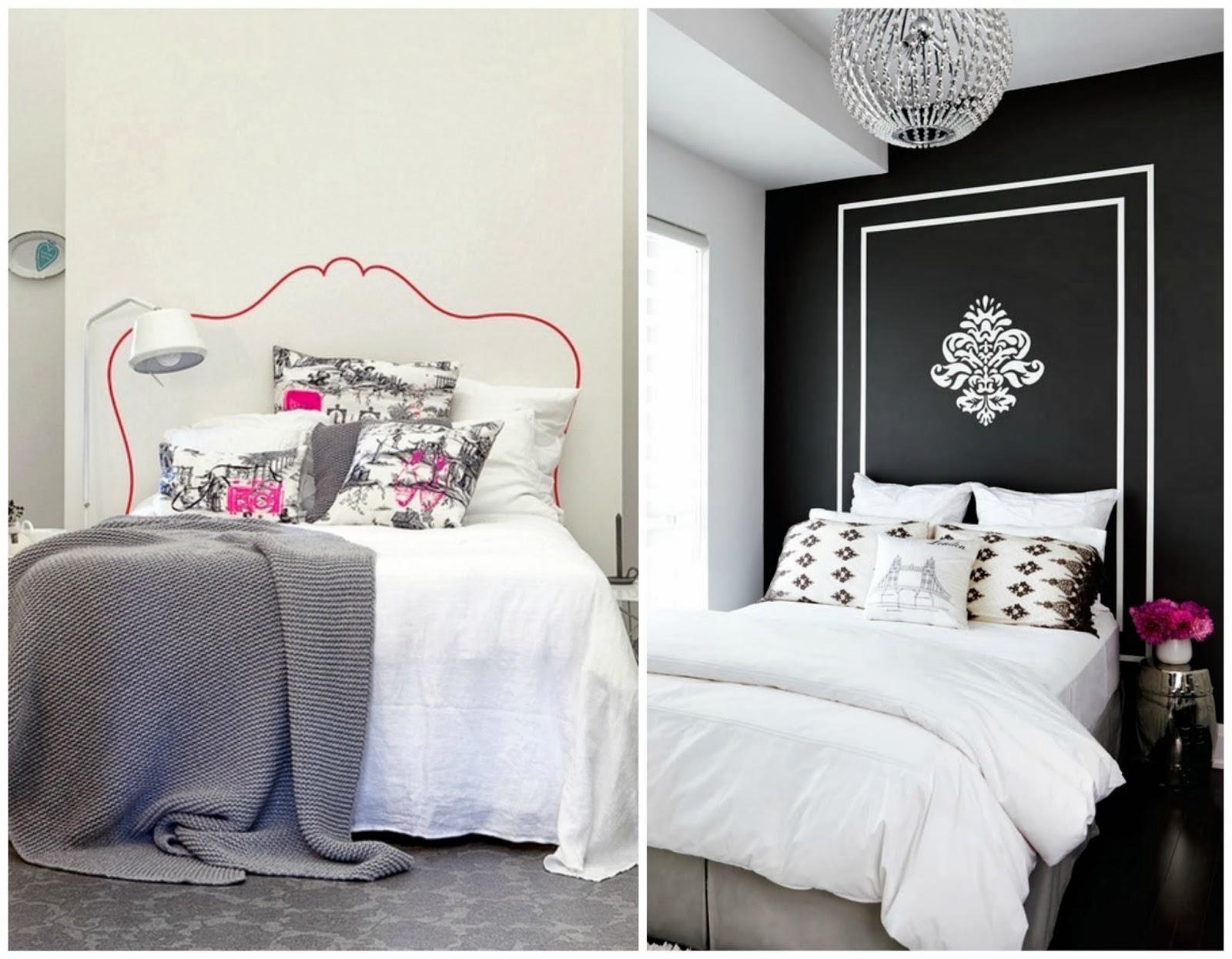 Piensa en chic chic deco cabeceros originales - Cabeceros de cama originales pintados ...