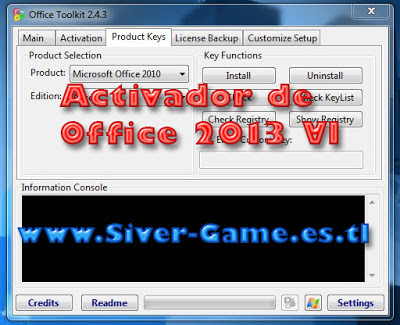 Activador de Office Profesional Plus 2013 VL