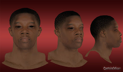 NBA 2K13 Eric Bledsoe Cyberface Mod