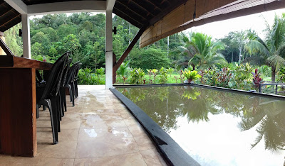kolam mandi tebat resort