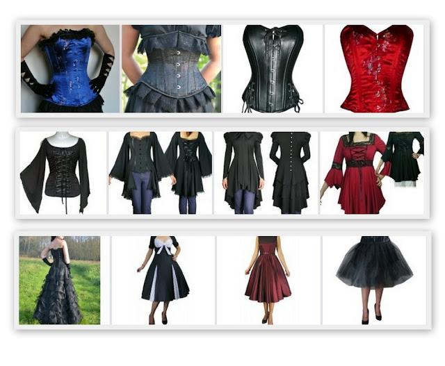 grote maten retro, vintage, gothic en jaren 50