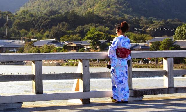 Arashiyama, yukata